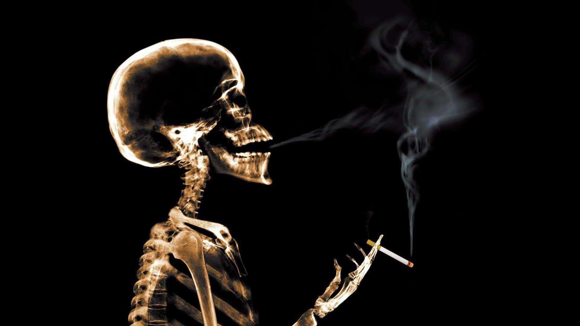 吸烟真的影响大脑