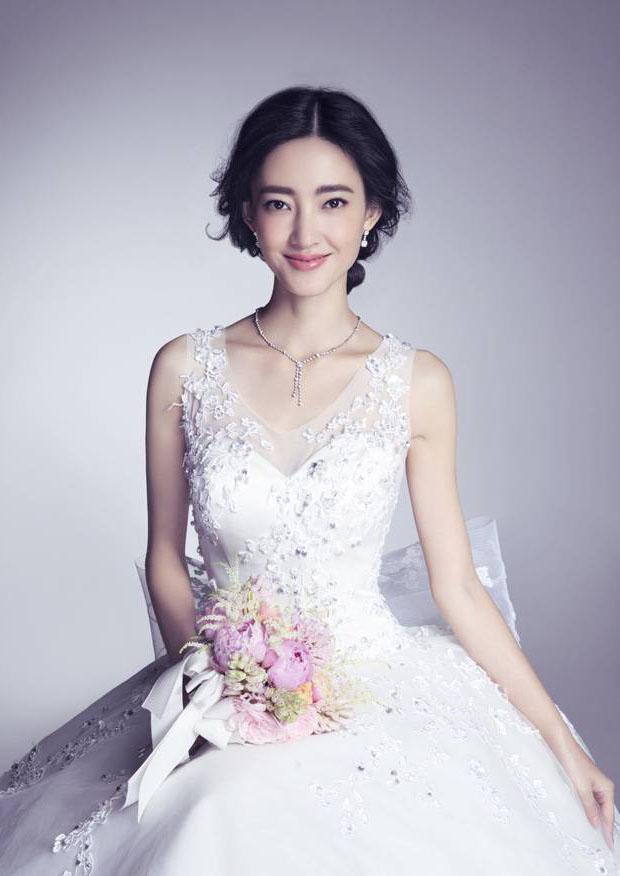 王丽坤唯美婚纱写